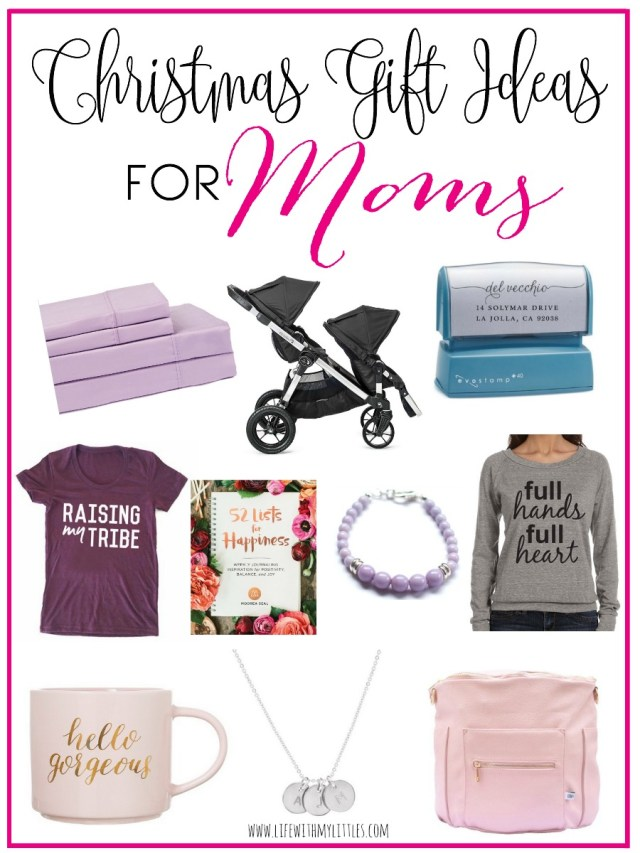 These Christmas gift ideas for moms are awesome! Whether you can't figure  out - Christmas Gift Ideas For Moms - Life With My Littles
