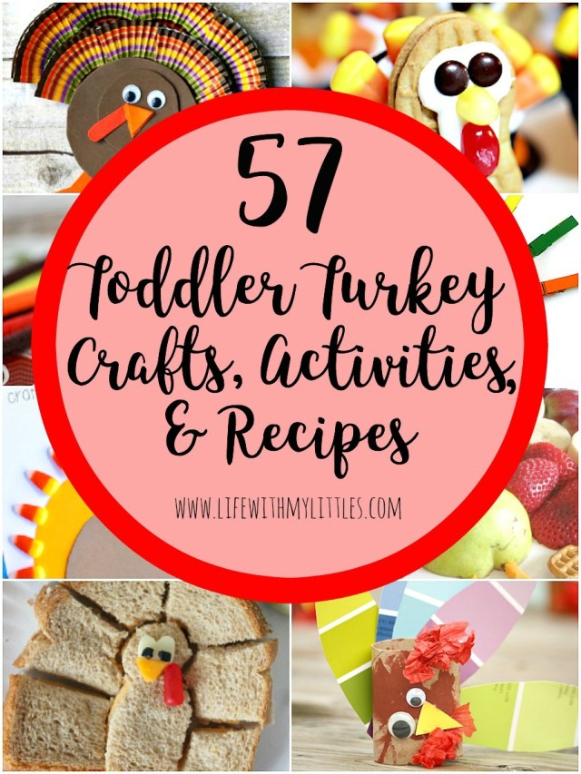Toddler Turkey Crafts Activities And Recipes Life With My Littles