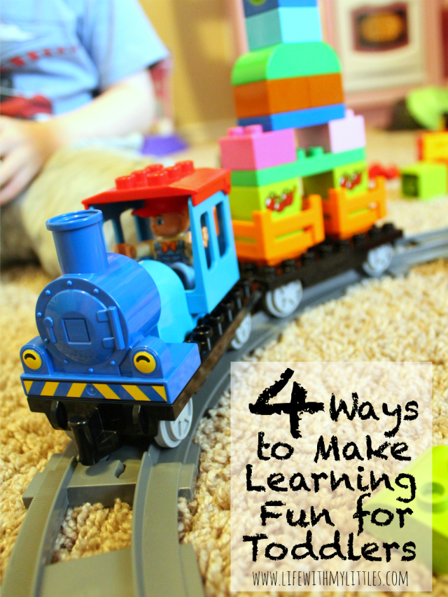 4 Ways To Make Learning Fun For Toddlers With Lego Duplo Life With