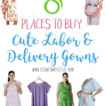 8 Places To Buy Cute Labor And Delivery Gowns Life With My Littles