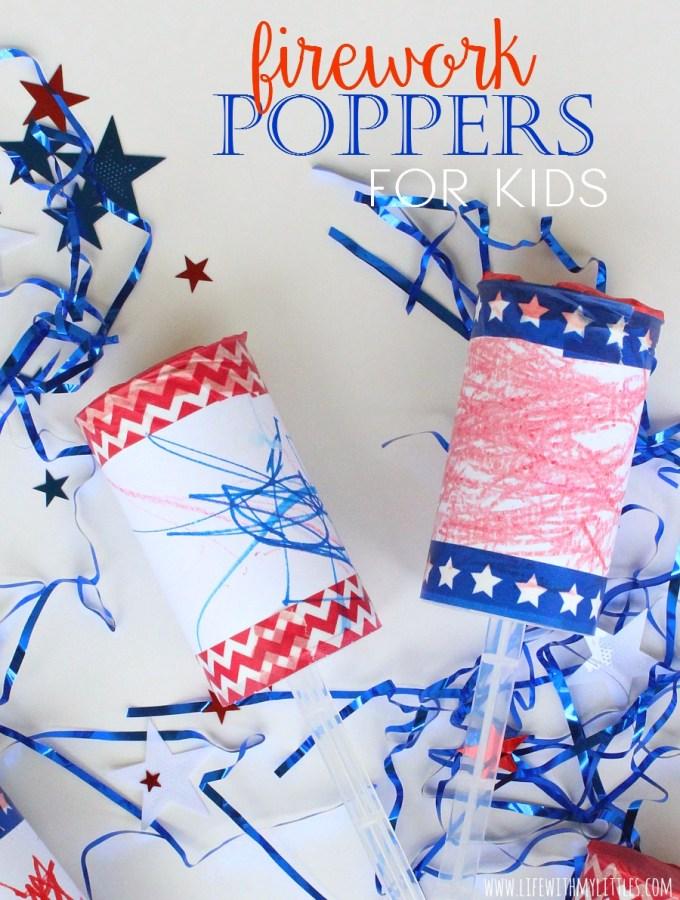 Firework Poppers for Kids