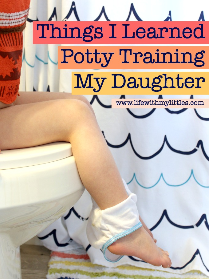 Potty training is hard, no matter what age or gender! Here are 14 things I learned potty training my daughter at 3 1/2 years old. Some great tips here!