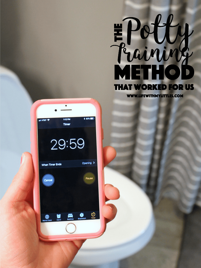 Here are all the details about the potty training method we used to get our almost 3 1/2 daughter using the potty in less than a week!