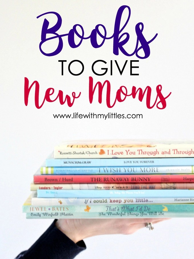 These eleven books to give new moms are such beautiful, wonderful stories that are sure to mean a lot to any new (or more experienced) parent! I dare you to get through this list of books without crying! If you're trying to find a book to give a pregnant mama at her baby shower, pick one of these!