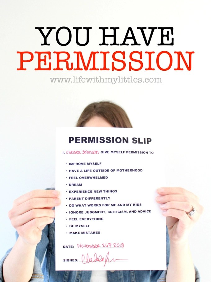 You Have Permission