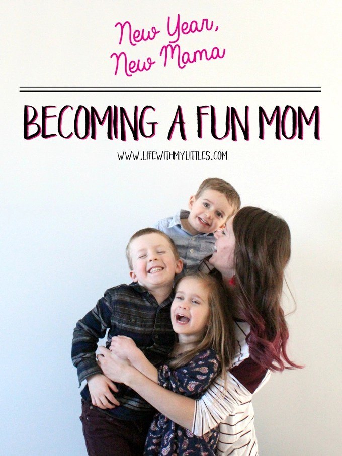Motherhood is so exhausting and it can be hard to let go and enjoy our lives alongside our kids! But becoming a fun mom is something every mama can do! Here are six ideas you can implement to help you relax and become a fun mom!