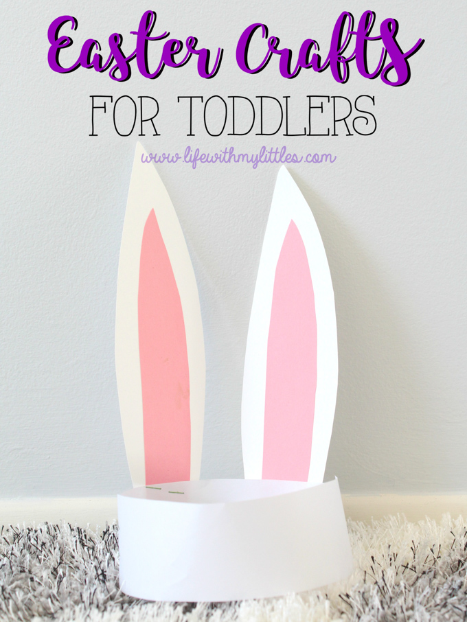 Easy Easter Crafts For Toddlers Life With My Littles