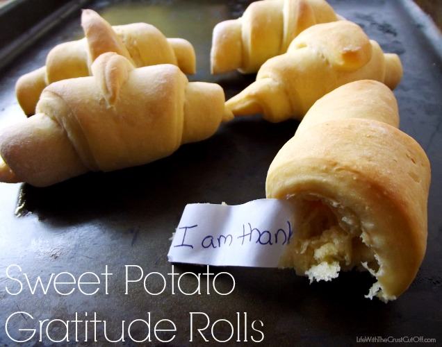 Sweet Potato Gratitude Rolls