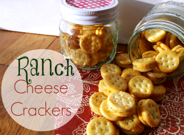 Ranch Cheese Crackers