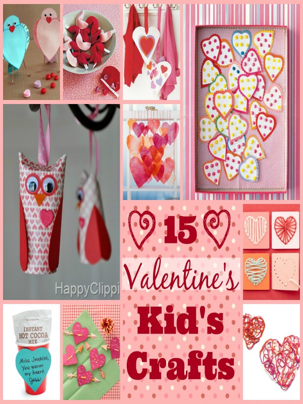Valentines Collage pin