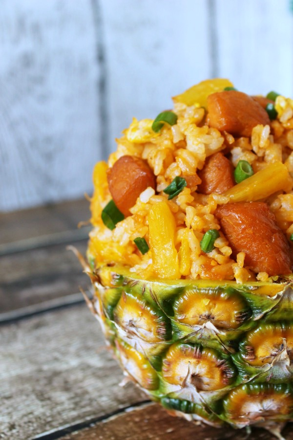 Pineapple Pork Fried Rice #CollectiveBias