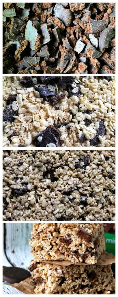 Thin Mint Rice Crispies