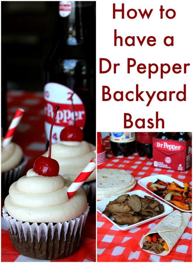 Dr Pepper Backyard Bash #BackyardBash #CollectiveBias