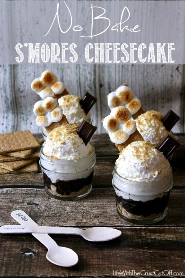 No Bake Smores Cheesecake