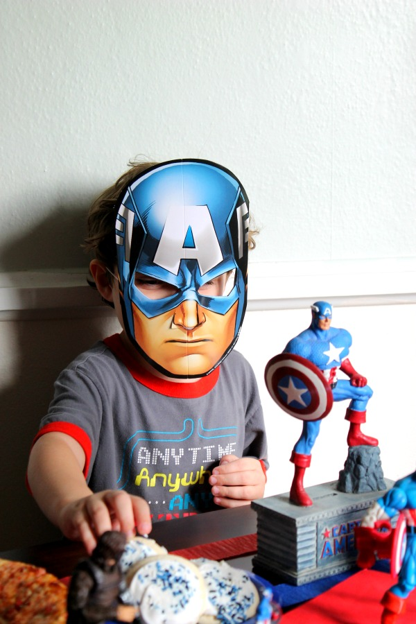 Captain America Mask #HeroesEatMMs #CollectiveBias