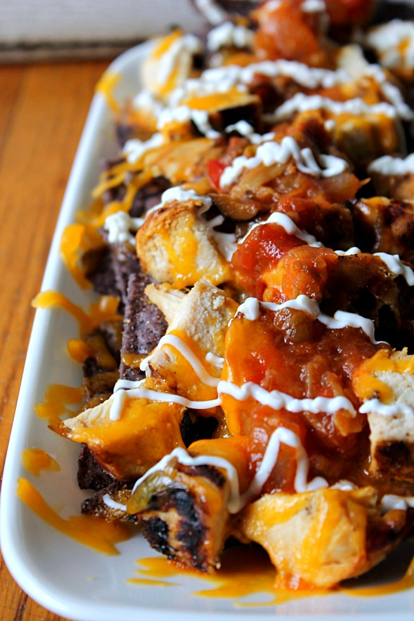 Citrus Chicken Nachos #drinkTEN #CollectiveBias