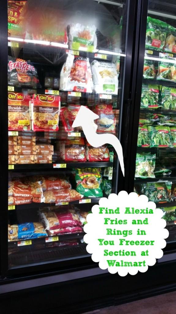 Alexia in Walmart #CollectiveBias #SpringIntoFlavor