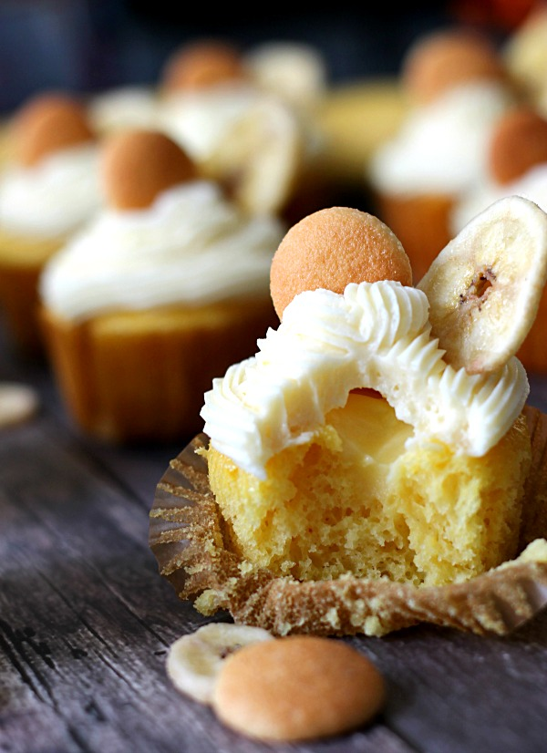 Banana Pudding Cupcake, yum!