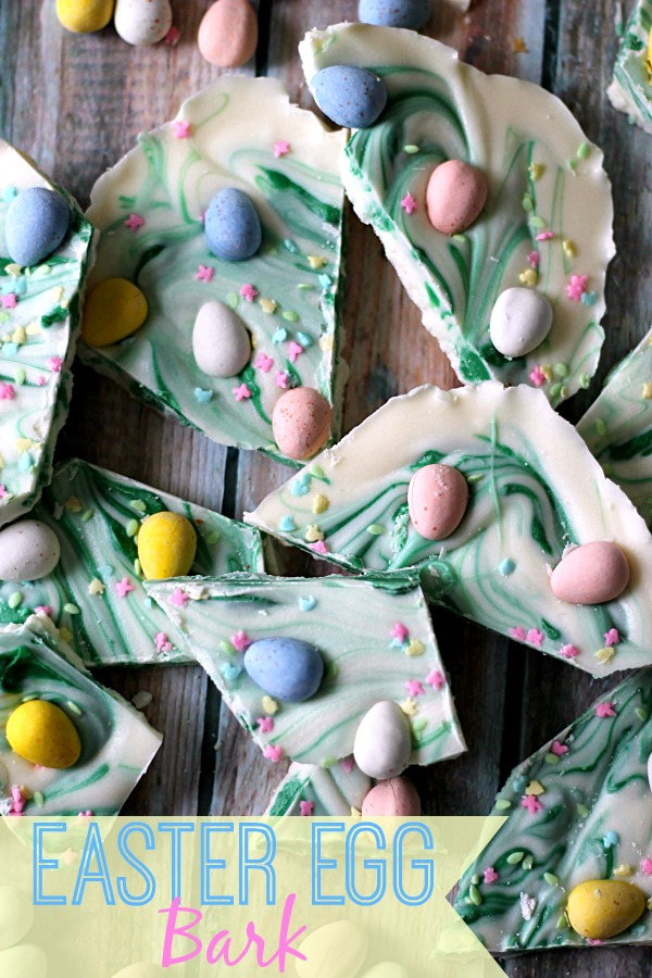 Easter Egg Bark