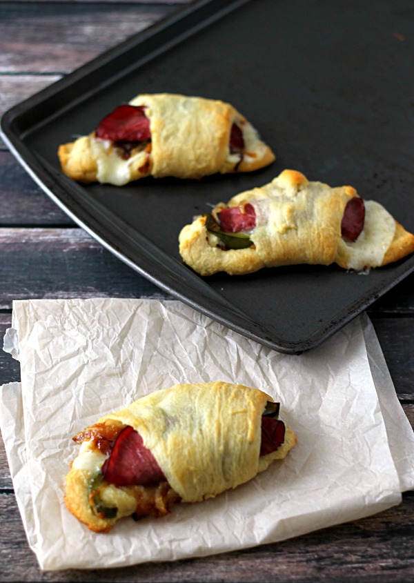 Cheesesteak Crescents