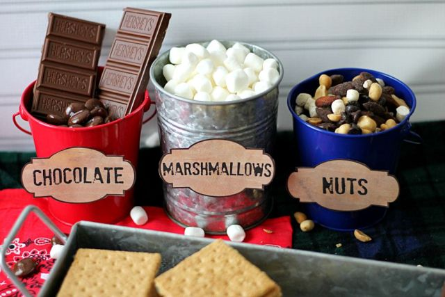 Smores Bar Toppings