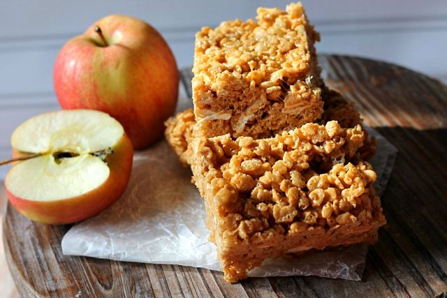 Caramel Apple Rice Krispies