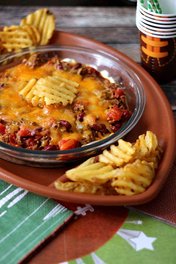 Chili Cheese Fry Dip