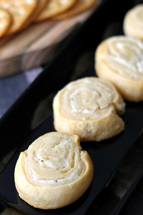 Garlic & Herb Cheese Pinwheels