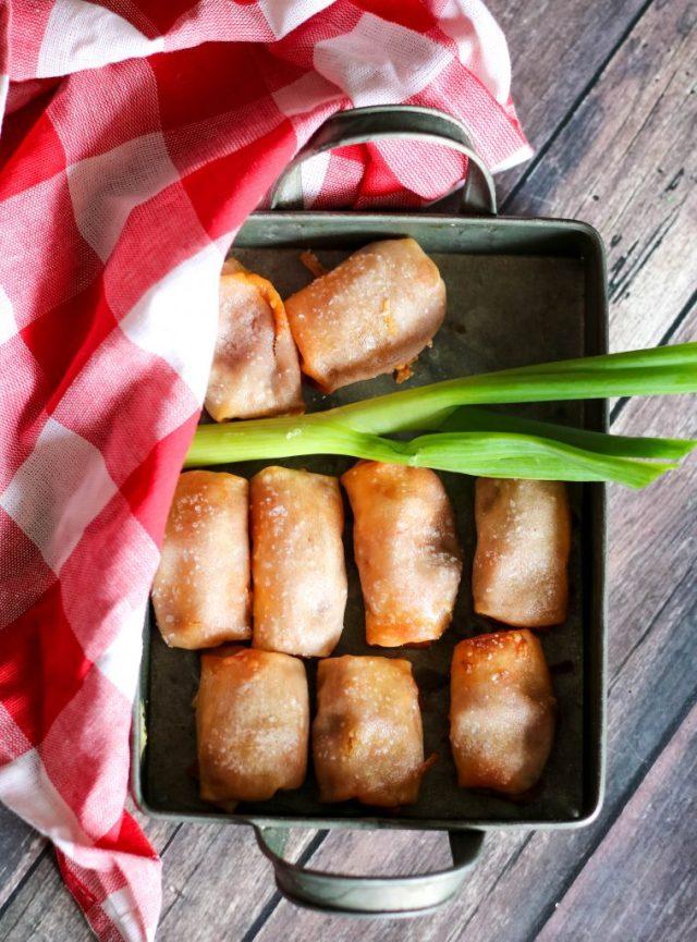 Bean & Cheese Egg Rolls