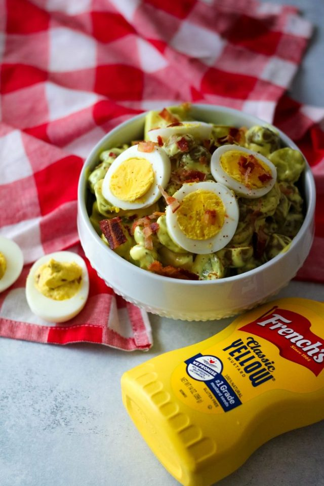 Deviled Egg Potato Salad