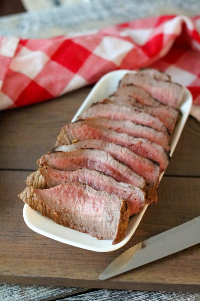 Dijon Marinated London Broil