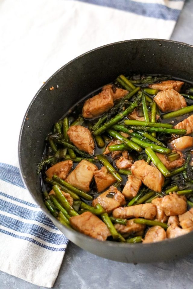 Chicken and asparagus stir fry (1 of 1)