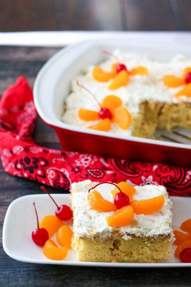 Pig Pickin Tres Leches Cake, yum (1 of 1)