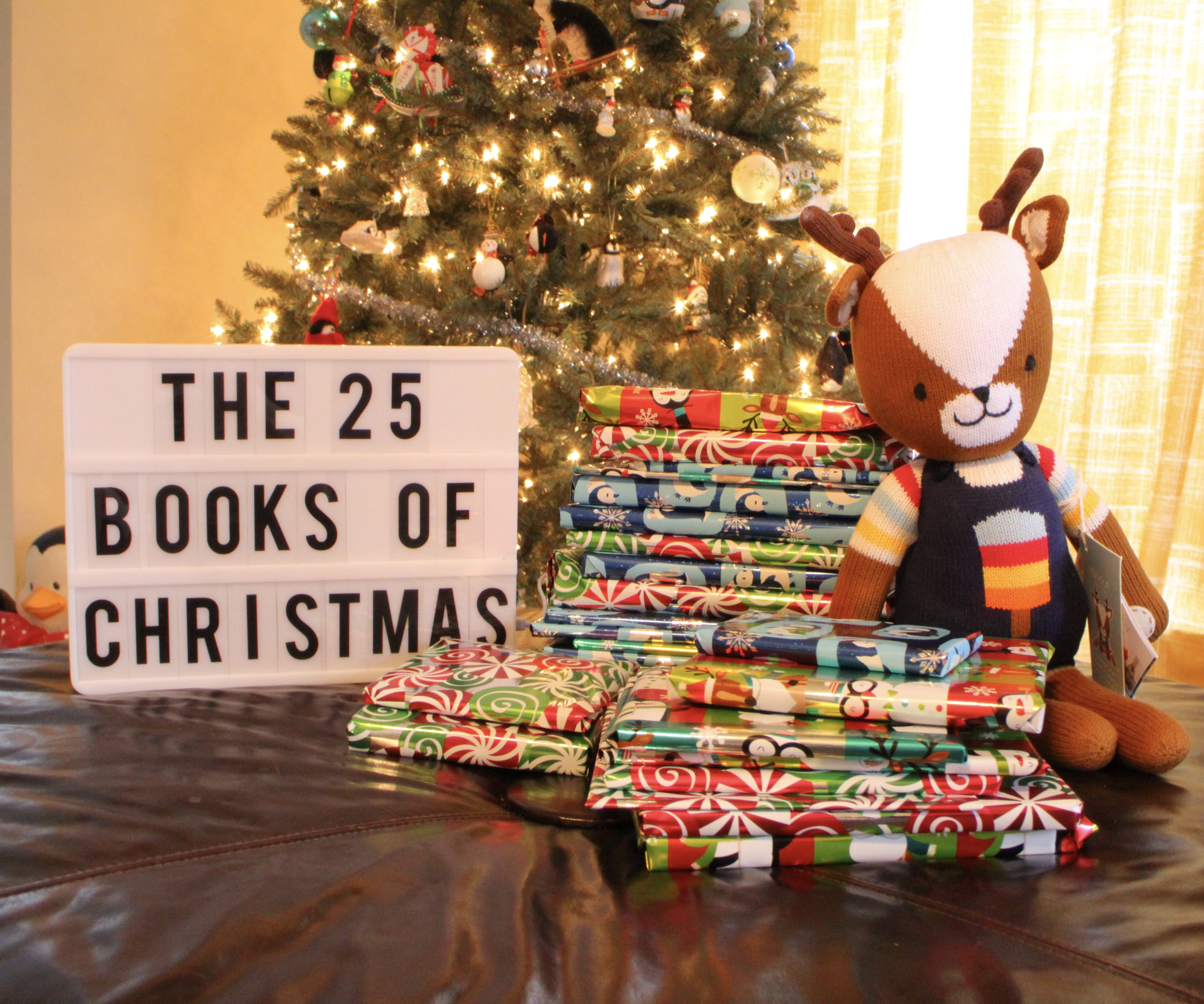 the 25 books of christmas life with the lucentes - Why Is Christmas In December