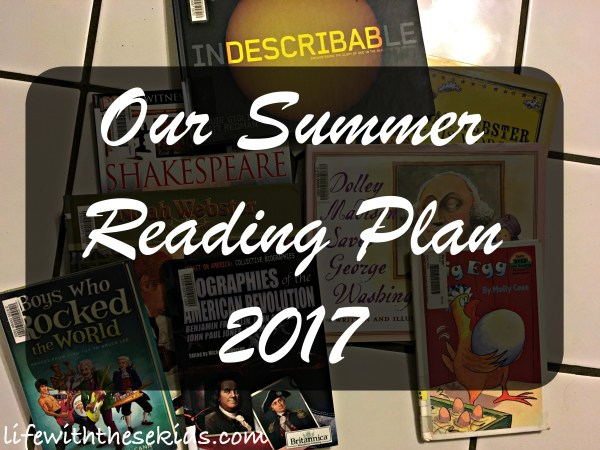summer reading plan