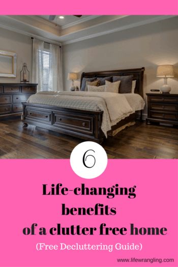 A clutter free home has many benefits including allowing more time to spend with family and friends. Find out the other 5 here.