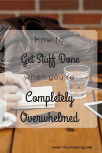 Feeling stressed? Simple steps to reduce overwhelm and be more productive today.
