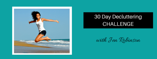 The 30 Day Decluttering Challenge 5