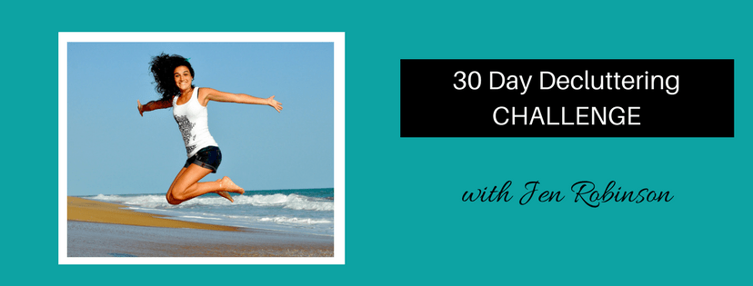 The 30 Day Decluttering Challenge 1