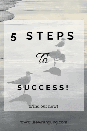 5 steps to getting back on track.