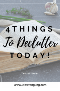 Decluttering: But what if I need it someday?