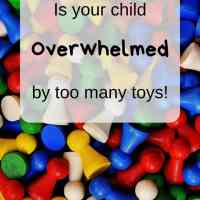 Do your children have too many toys?