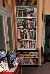Bookcase before 5