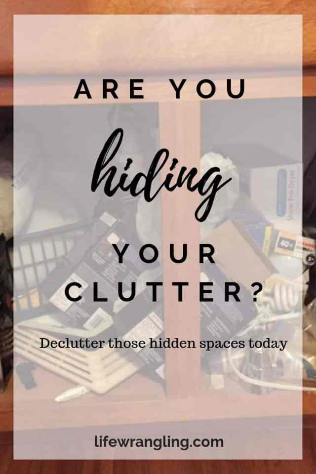 Decluttering Hidden Spaces 5
