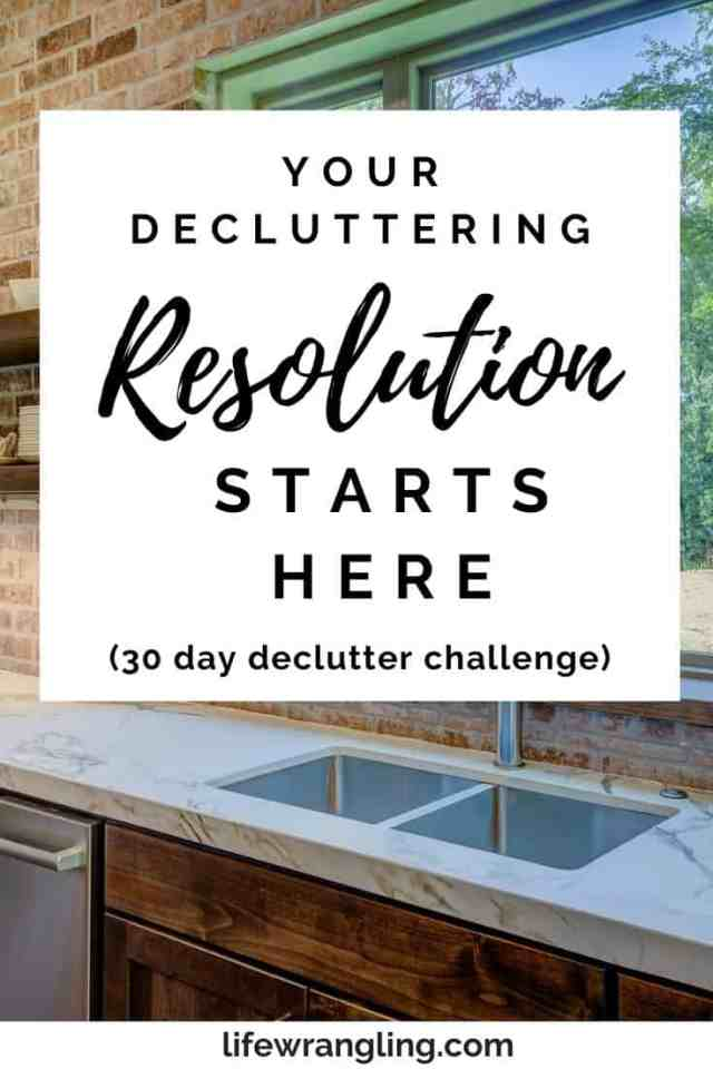 20 Simple Things to Declutter for the New Year