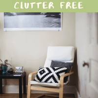 The Number 1 Top Tip for  Clutter Free Living