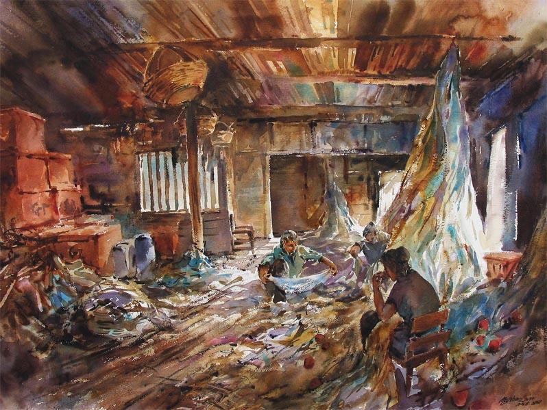 Ng Woon Lam NWS AWS Singpaore Watercolor