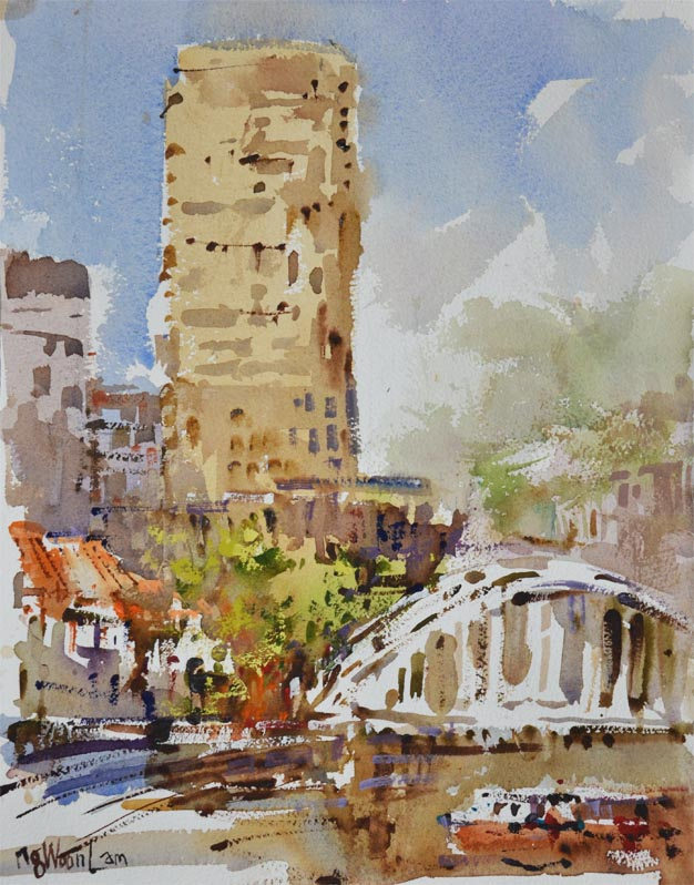 Singapore River Affordable Art Urban Sketchers Singapore USK