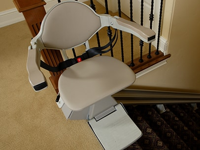 bruno chair lifts chiavari chairs wedding ann arbor mi stair lift for you get s most popular straight stairlift the elan offers years of dependable use with made in america quality comes