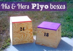 DIY Plyo Boxes: His & Hers